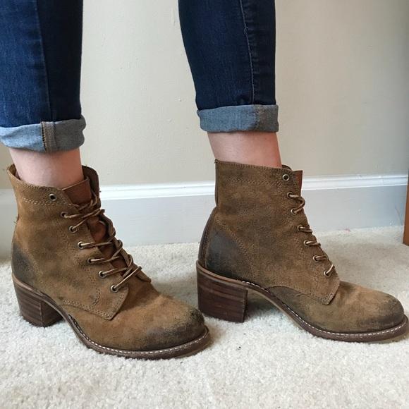 Frye Shoes   Frye Sabrina 6g Laceup